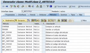 Métodos de la clase - se24
