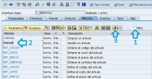 Pasos para redefinir el metodo de una clase en ABAP