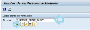 Crear un break point dinamico en ABAP