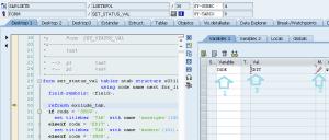 Como usar SE16 para actualizar tablas en sao