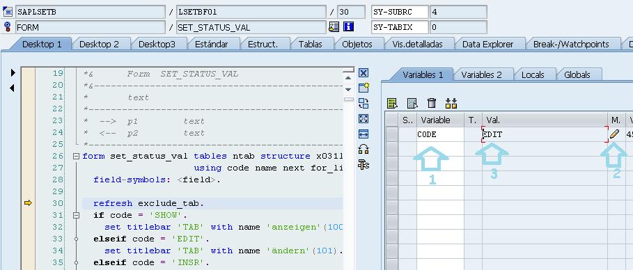 Como usar SE16 para actualizar tablas en sap