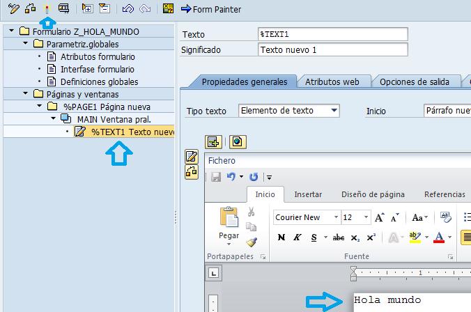 smartforms editar texto