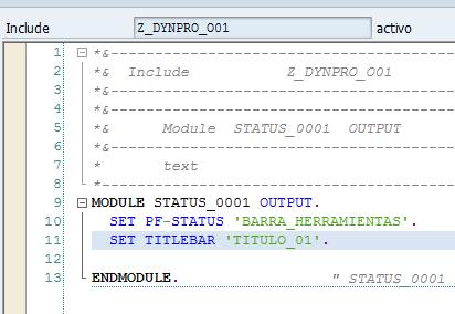 dynpro-pf-status
