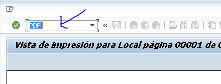 comando para mostrar salida como pdf